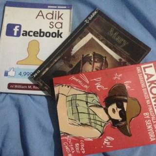 Books! ❤️ Lakompake, Adik sa FB and Mary