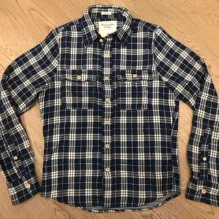 Abercrombie & Fitch A&F Like New flannel shirt Size Small