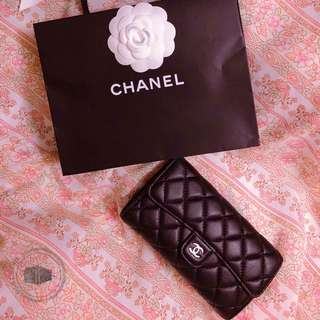 Chanel Classic Flap Wallet 🖤