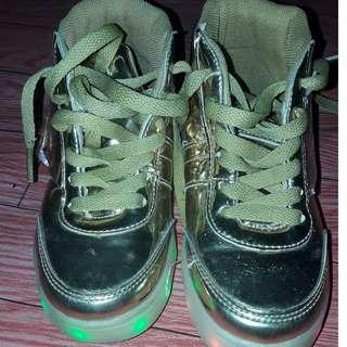 USB Unisex LED light shoes