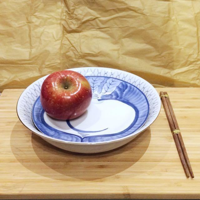 全新兩入陶瓷碗盤組合(含筷子) #新春八折