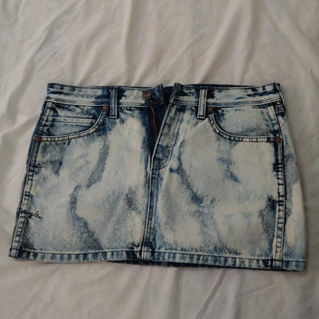 藍哥Wrangler 牛仔短裙