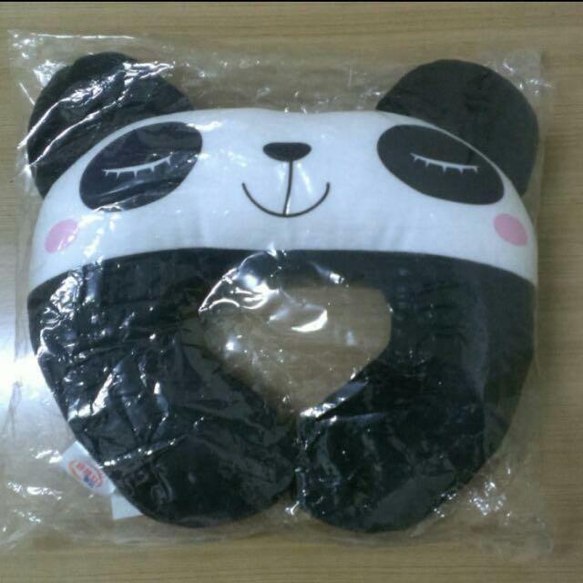 全新 熊貓 頸枕