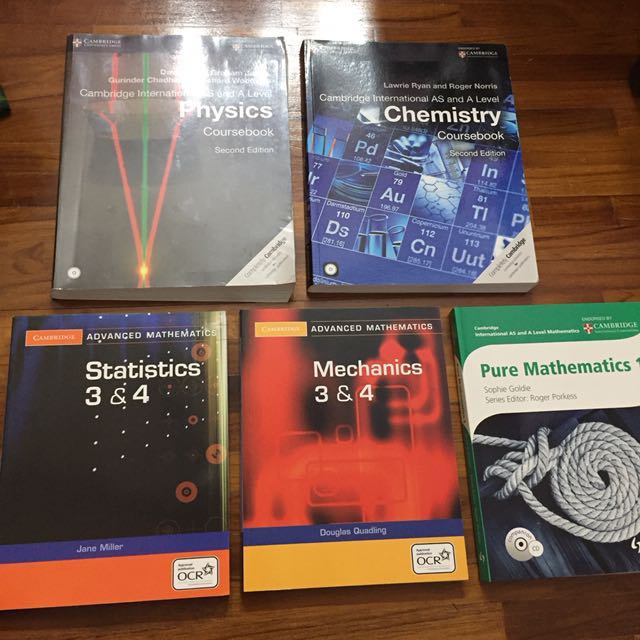 A levels books
