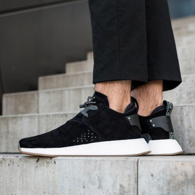 919a35c4fb0 Adidas NMD C2 Suede Pack Black