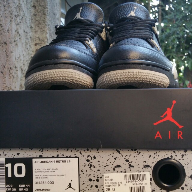 Air Jordan 4 Retro Black Oreo