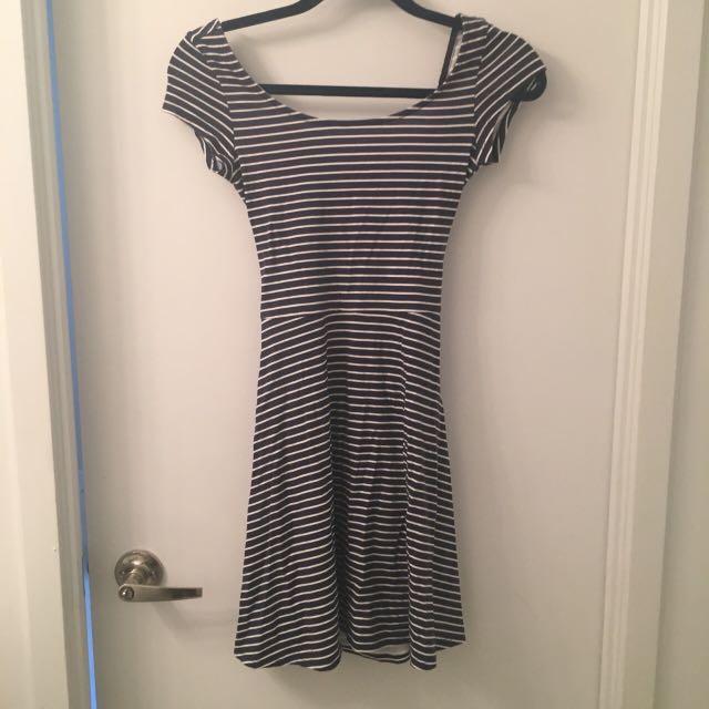 American Eagle Striped Dress XXS