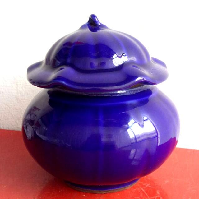 Antique porcelain bottle 古老瓷矸蓝靛色5寸高