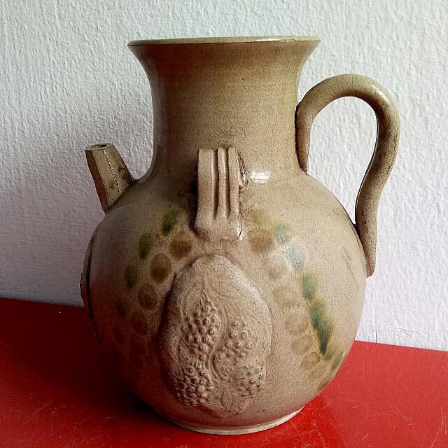 古老陶壶 Old clay pot 9寸高