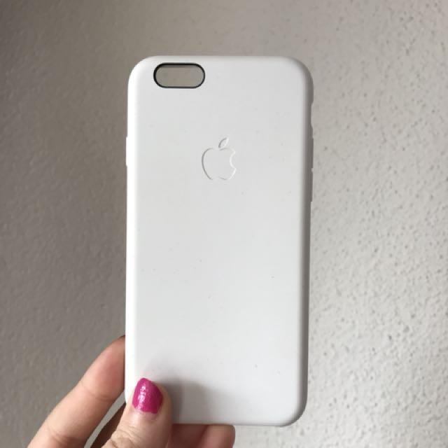 Apple iPhone 6 case - white silicone