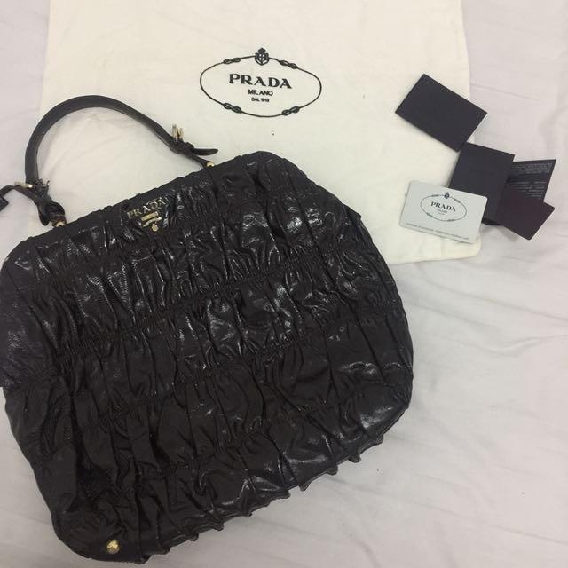Authentic Prada Office Bag