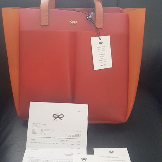 Authentic preloved anya hindmarch 3 tones bag
