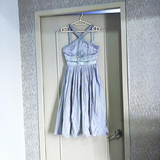 Beaded vintage dress