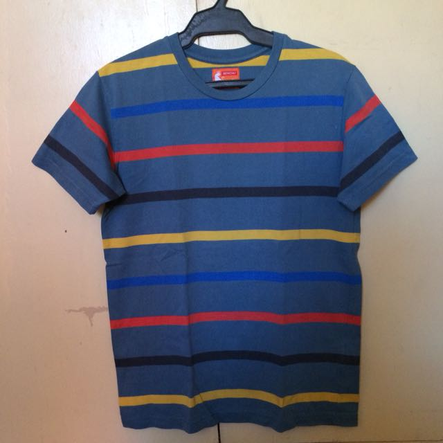 Bench Multicolored Striped Shirt