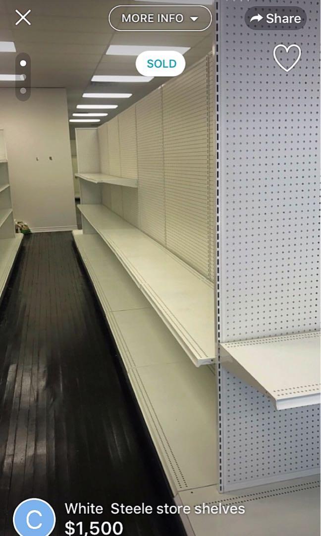 Big shelves