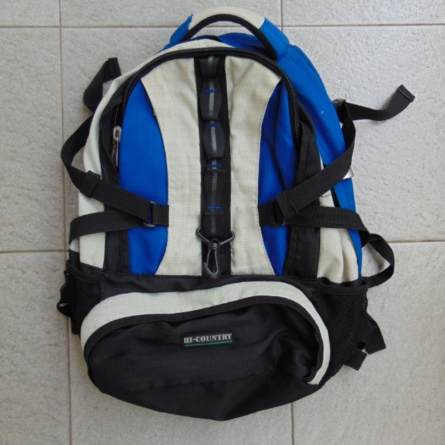 Blue Backpack by HI COUNTRY