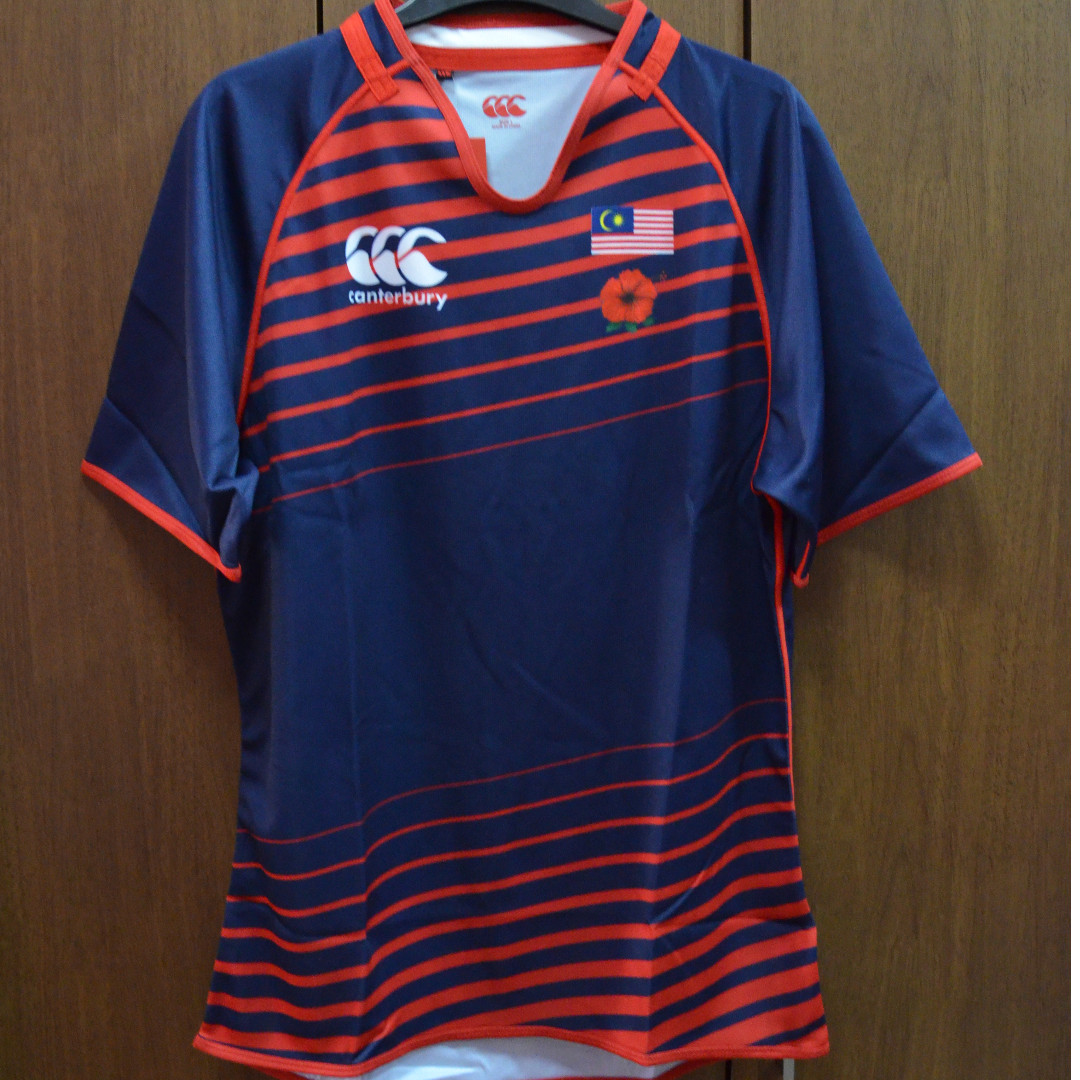 BNWT Canterbury Malaysia Rugby Jersey, Sports, Athletic