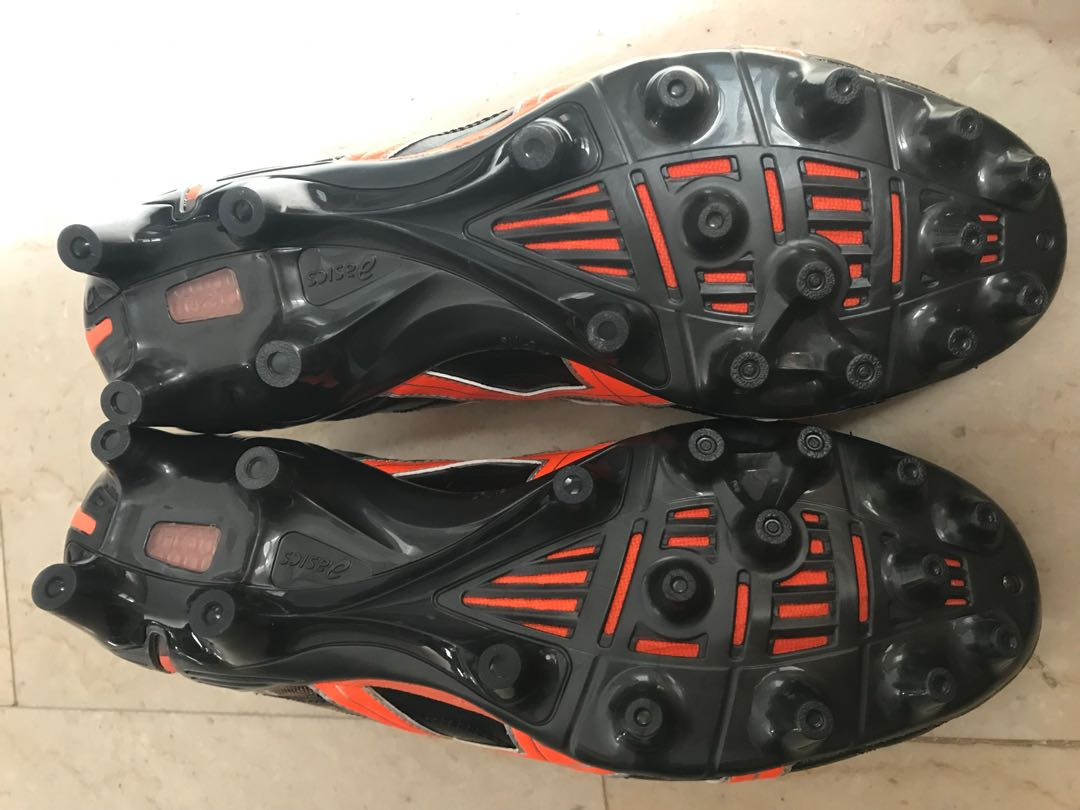 2d43a9475 Brand New Asics Gel Lethal Tigreor K-Leather Football Boots FG AG ...