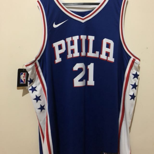 "BRAND NEW Authentic NBA ""76ers"" Jersey"