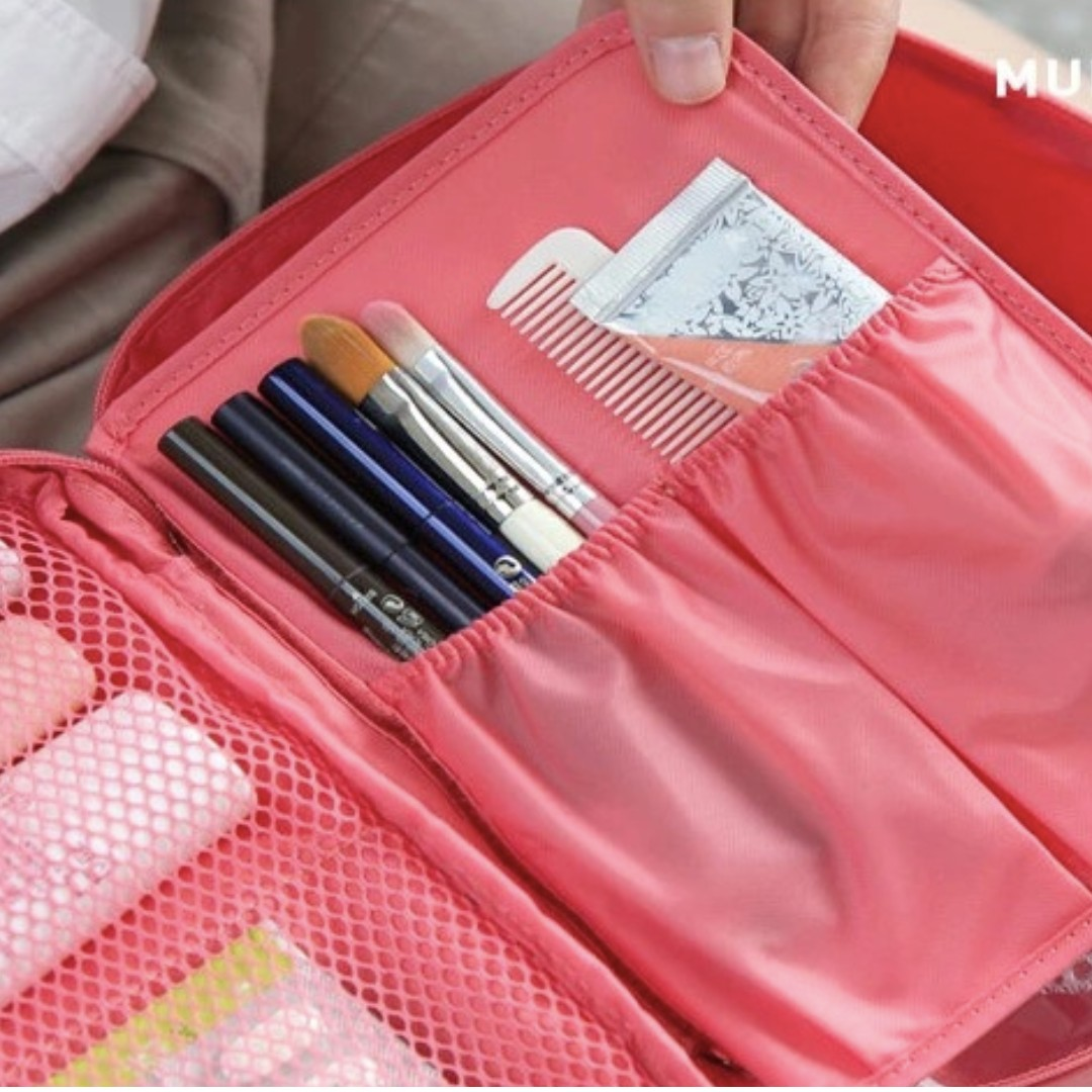 e1a326a38a Brand New Fashion Waterproof Travel cosmetic bag Women cosmetic bag Make Up  Organizer Toiletry bag Case Wash pouch