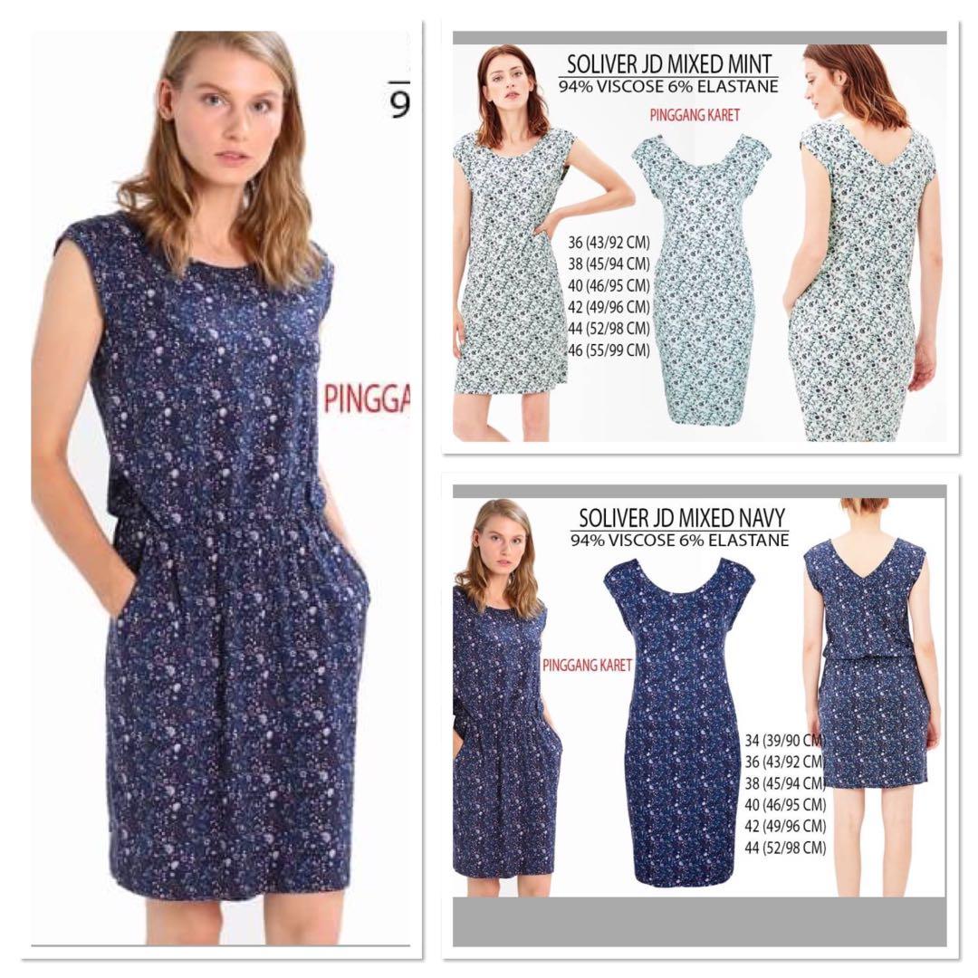 Branded Soliver JD Mixed Dress