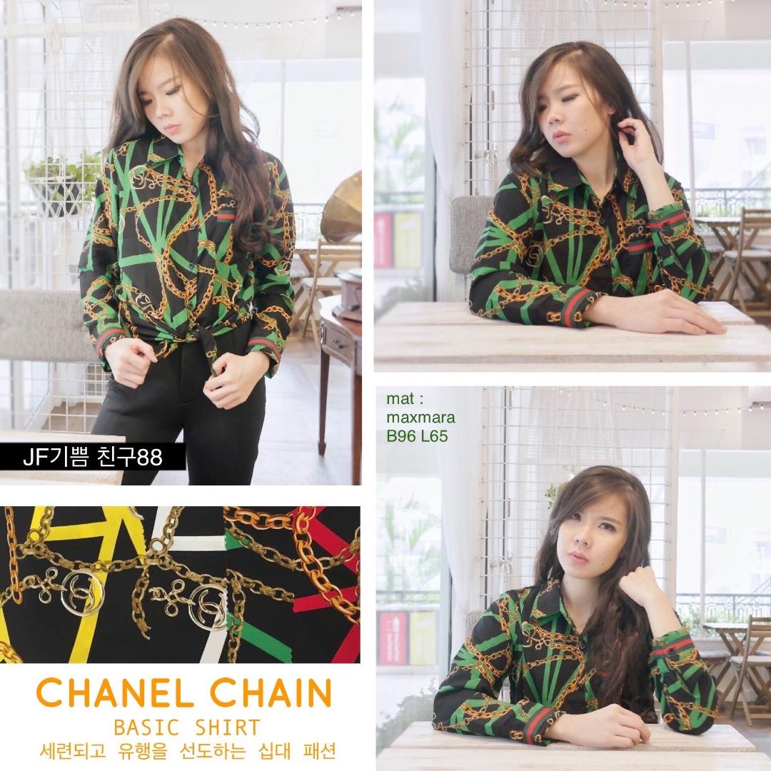 CHANEL CHAIN BASIC SHIRT