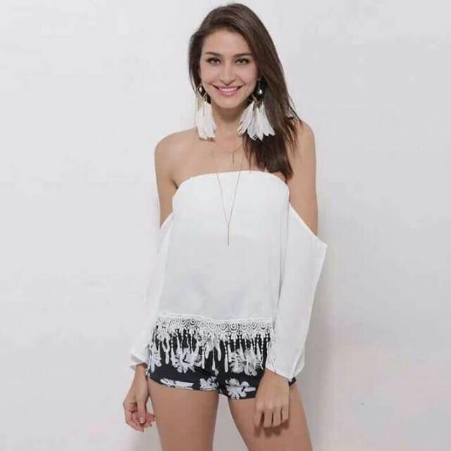 Chiffon Top Only