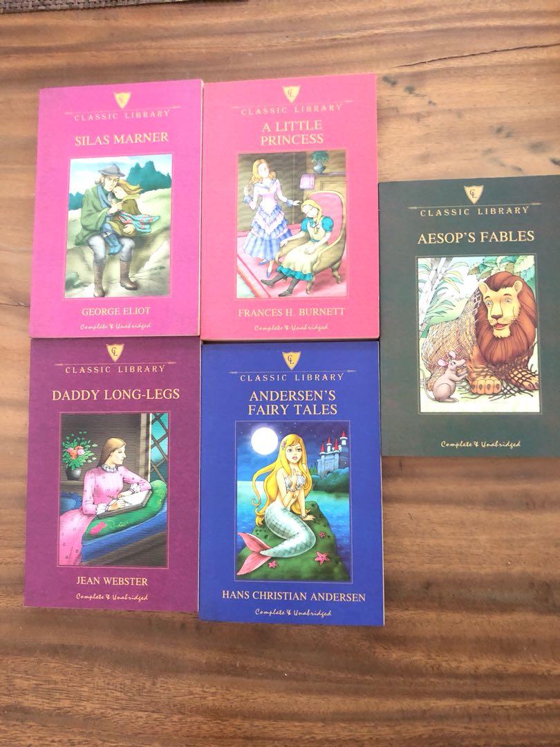 Classic Fairy Tales - set of 5 books