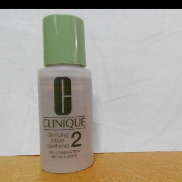 Clinique clarifying lotion 30ml