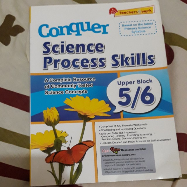 Conquer | Science Process Skills, Textbooks on Carousell