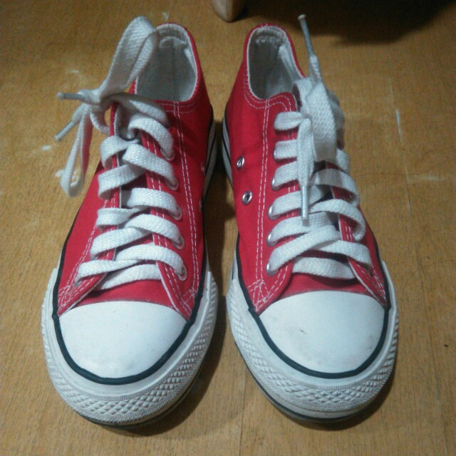 Converse Red inspired
