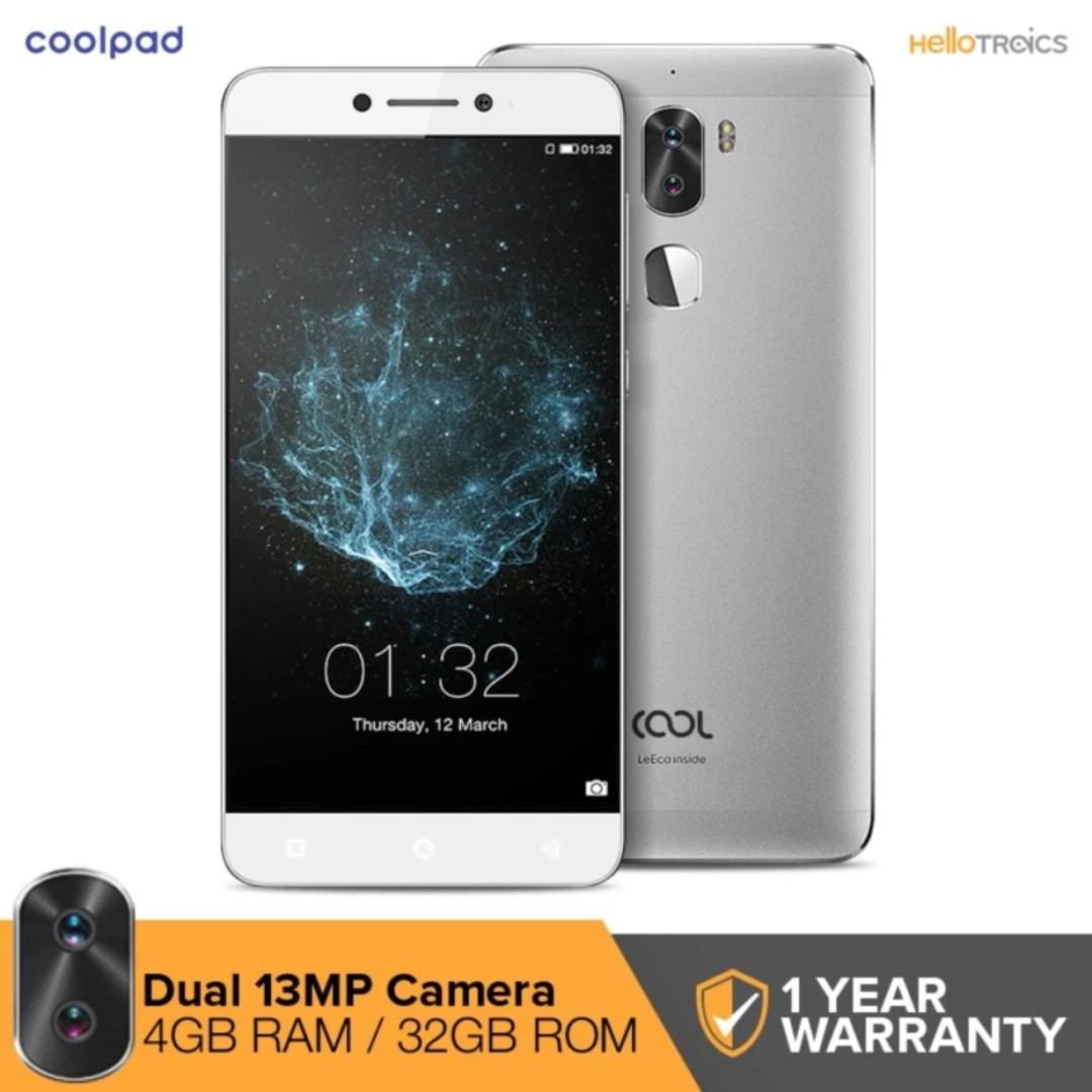 Coolpad Cool 1 C103 4GB RAM 32GB ROM (Silver) | Brand New | Cash On