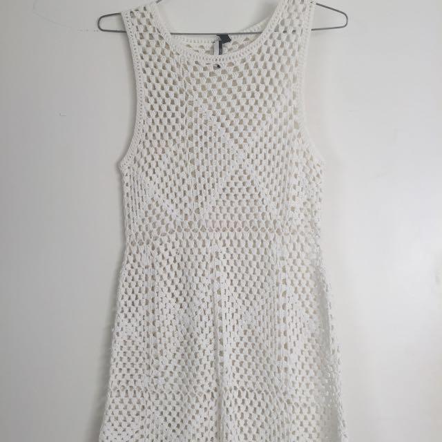 Crochet Dress From Top shop