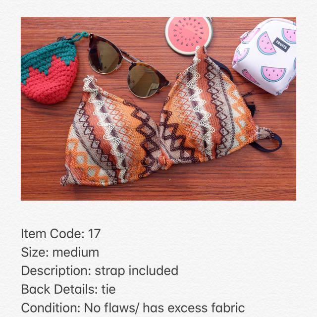 Crochet Style Bikini Top