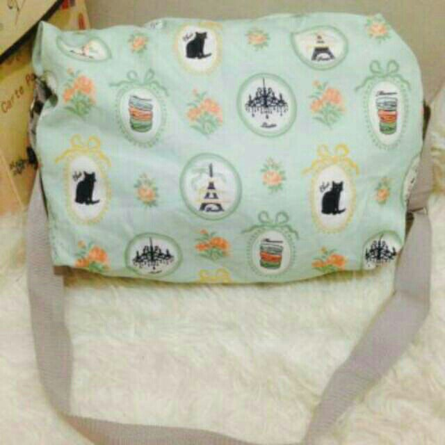 Cute Mint Big Sling Bag