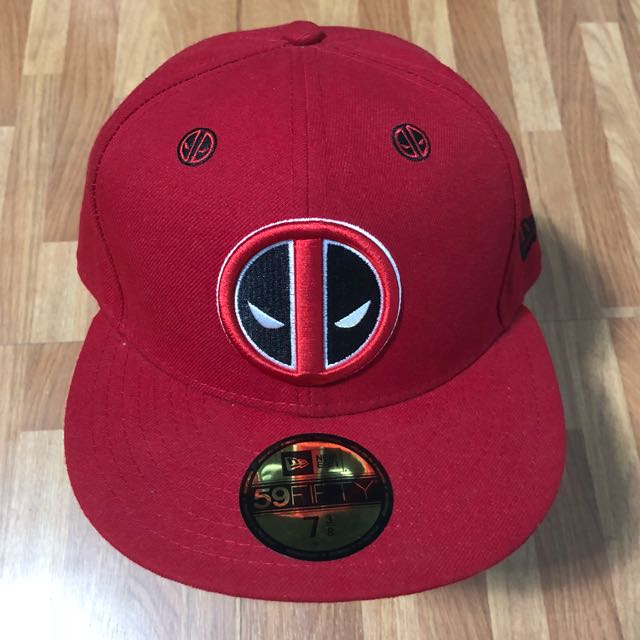 Deadpool New Era Cap 8d741cb53f2