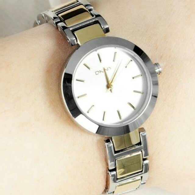 DKNY Stanhope Stainless Steel Ladies Watch
