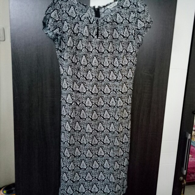 Dress Batik Mint