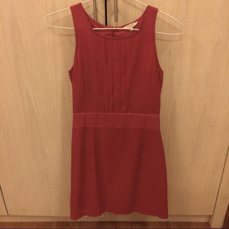 Dress et cetera warna merah size 4