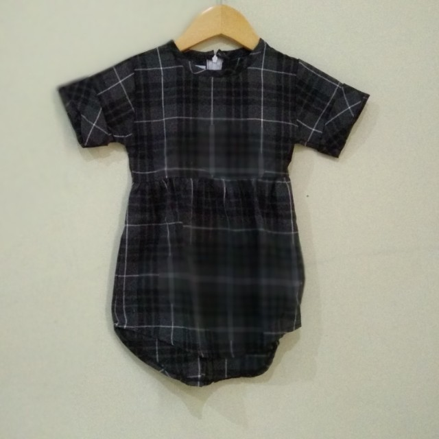 Dress Hitam New 2-4T