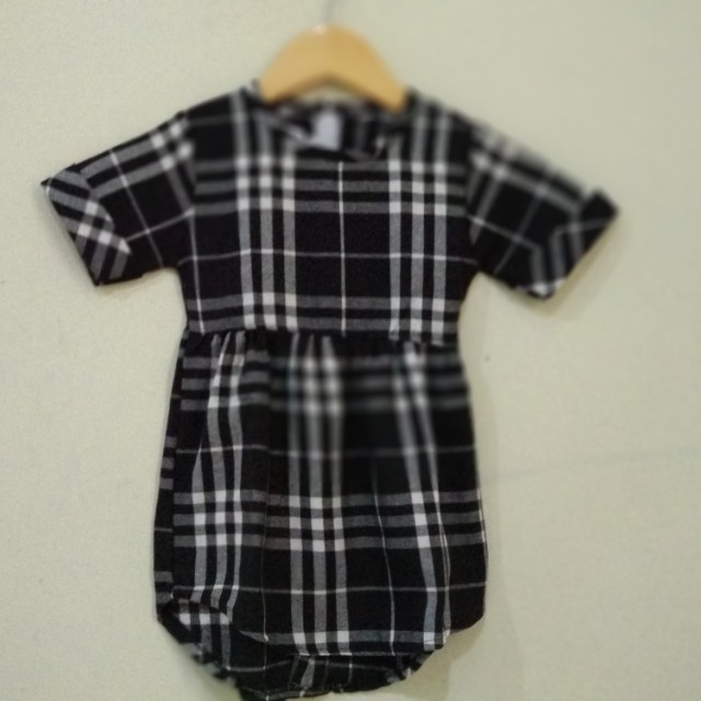 Dress Kotak Hitam New 2th
