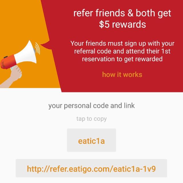 Eatigo promo code
