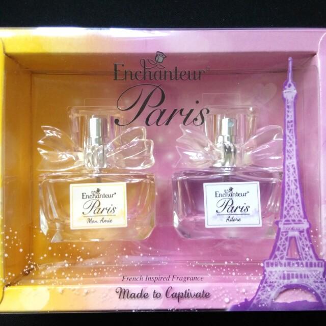 Enchanteur Perfume Set