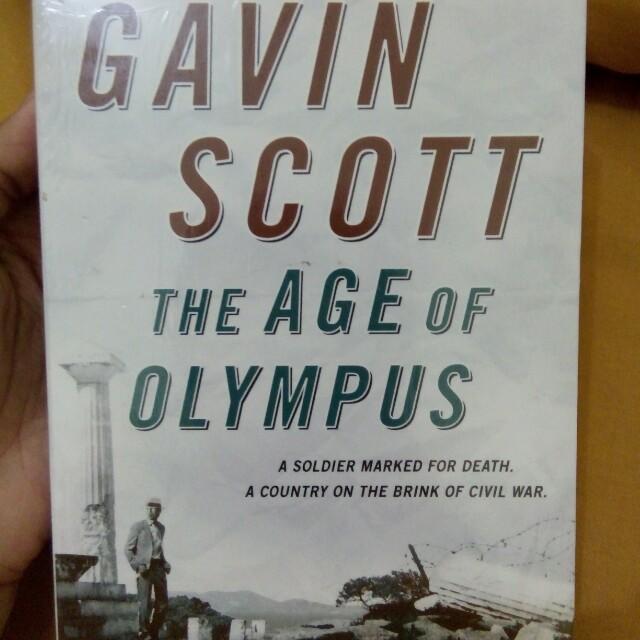 English Novel - The Age of Olympus by Gavin Scott