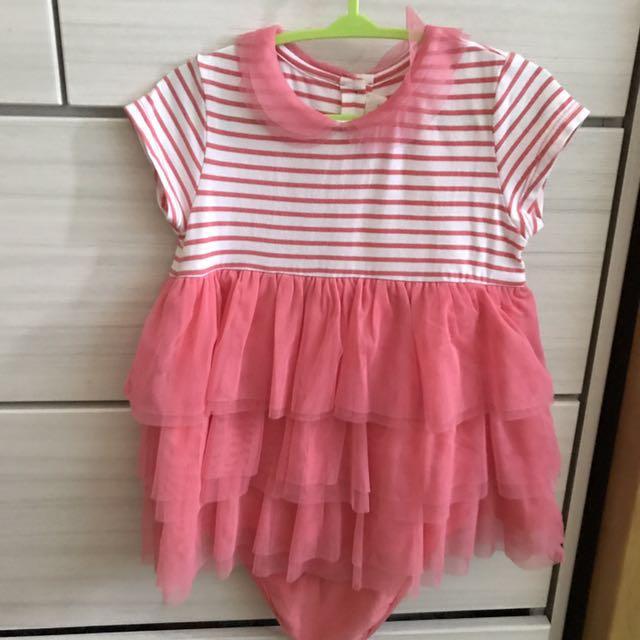 0d3de6a5697 EUC Chateau De Sable Baby Girl Dress