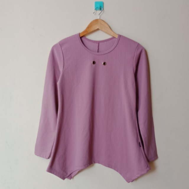 Expose Purple Blouse