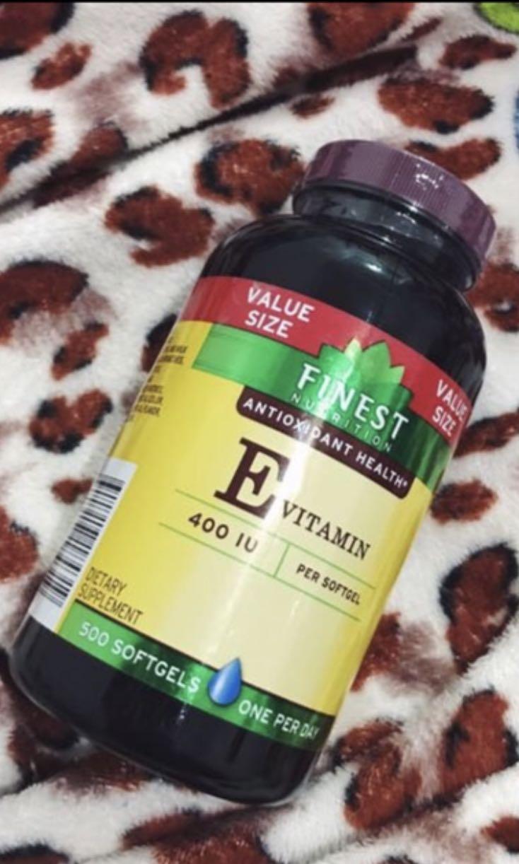 Finest Nutrition Vitamin E (500pcs)