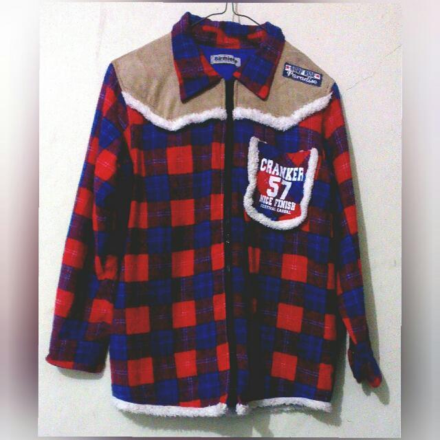 Flanel Jacket Retro Japan By Sirmione