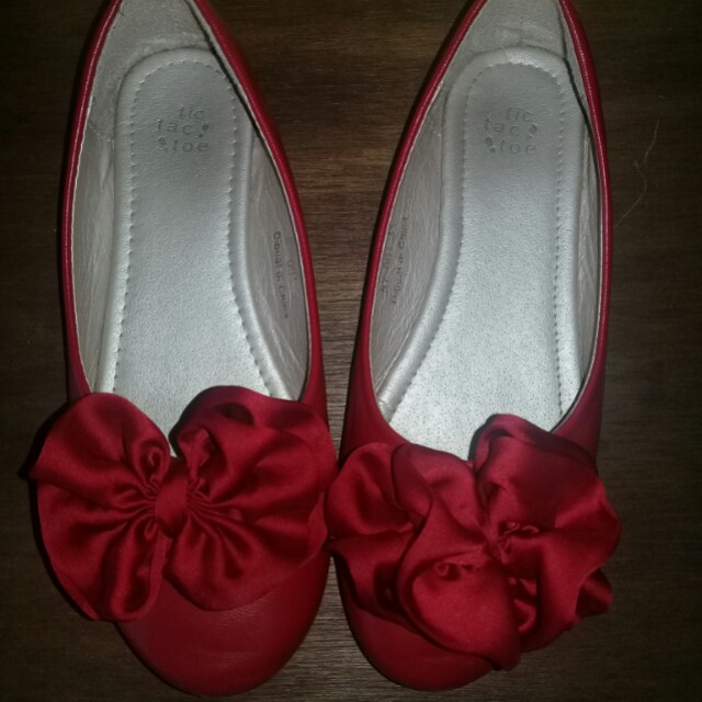 Flat red shoes (kids)