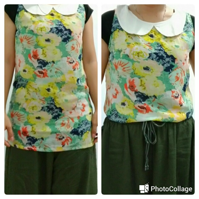 Flower Blouse 01